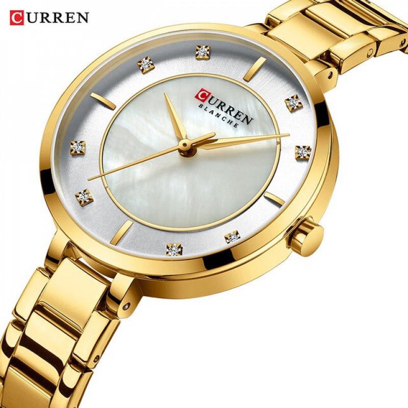 Женские часы Curren 9051L Gold