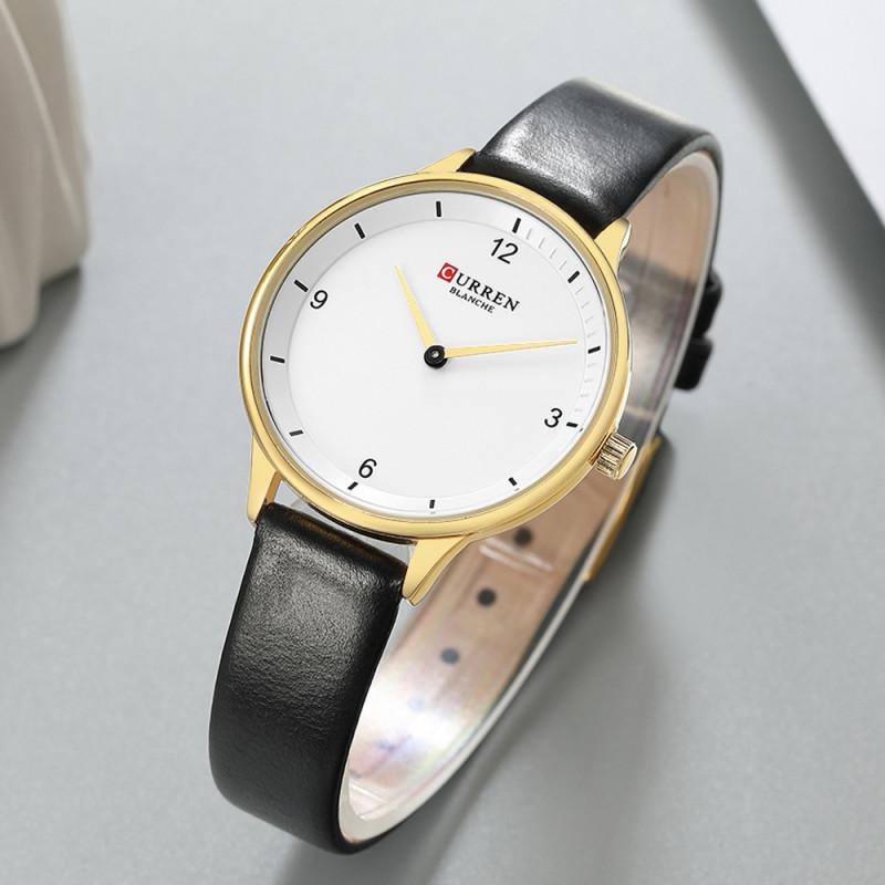 Женские классические часы Curren 9039 Black
