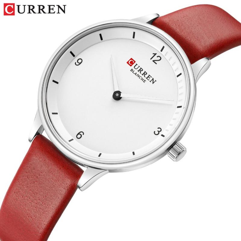 Женские классические часы Curren 9039 Red