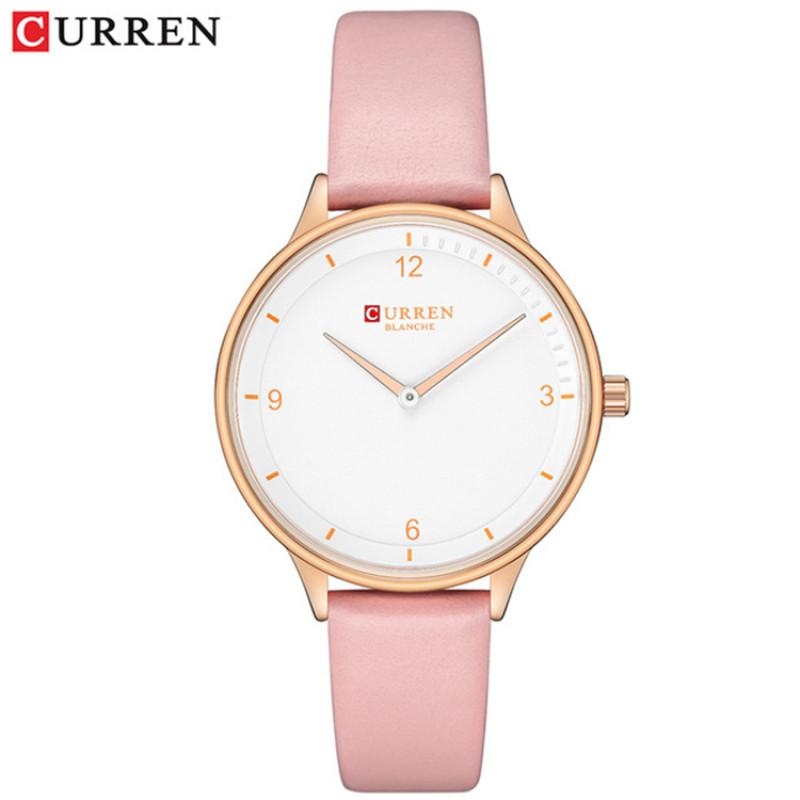 Женские классические часы Curren 9039 Pink