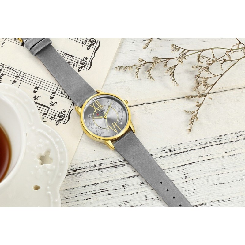 Женские модные часы Curren 9049