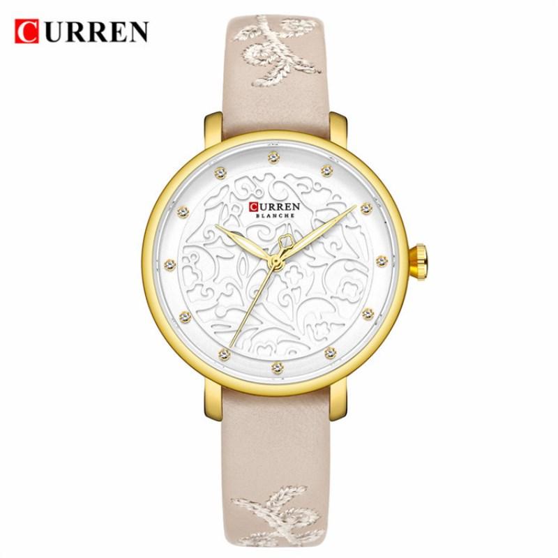 Женские модные часы Curren 9046 LB