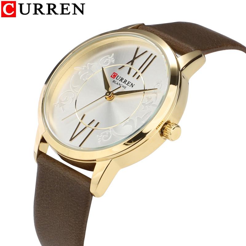 Женские модные часы Curren 9049 DB