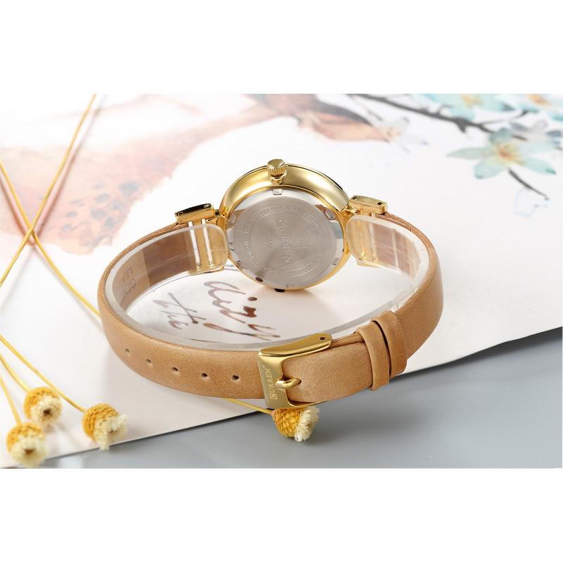 Женские классические часы Curren 9053 Brown