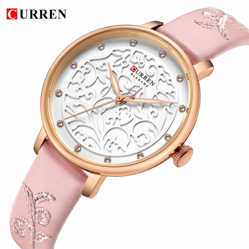 Женские модные часы Curren 9046 Black