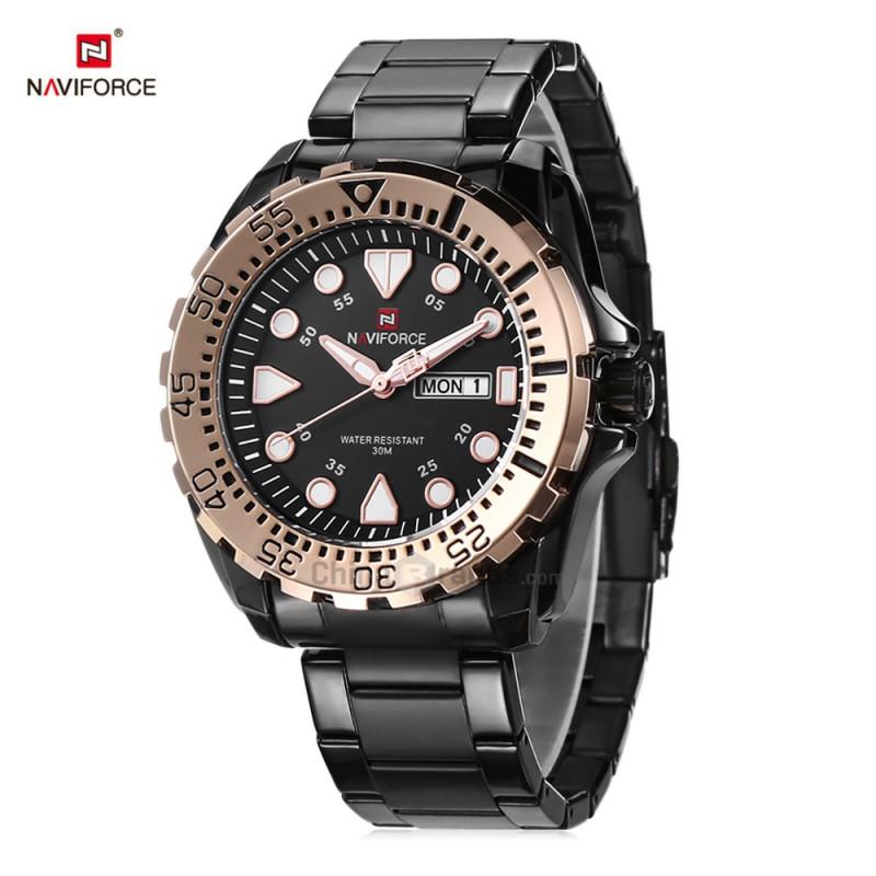 Мужские кварцевые часы  NAVIFORCE  9105