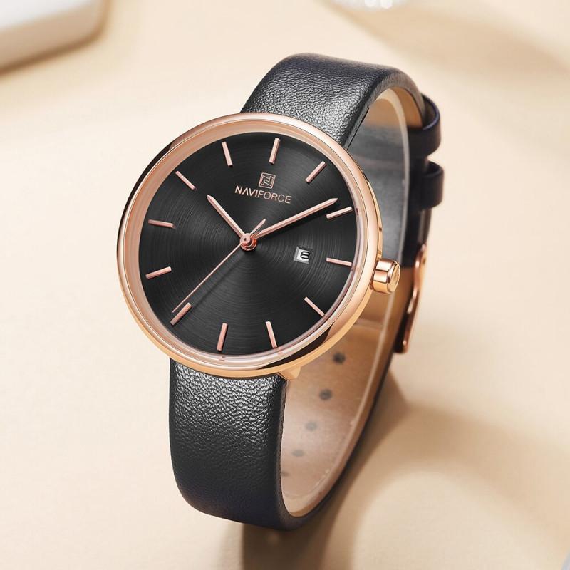 Женские классические часы Naviforce 5002 черный