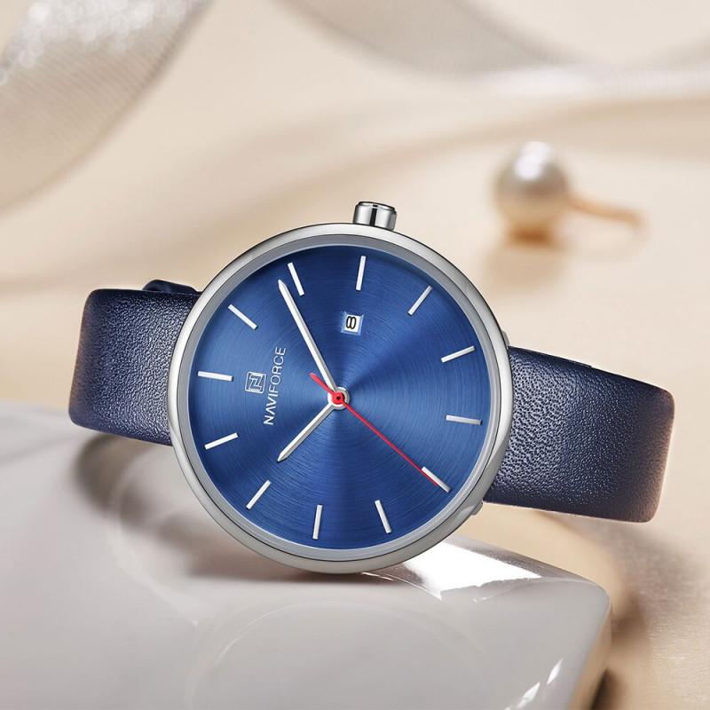 Женские классические часы Naviforce 5002 синий