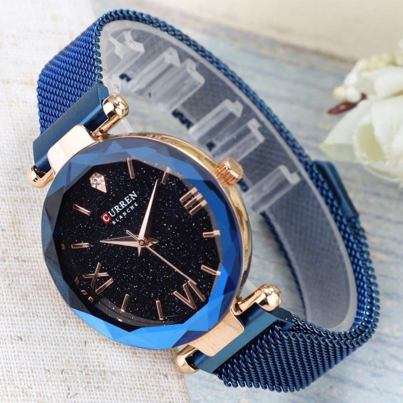 Женские часы Curren 9063 Blue