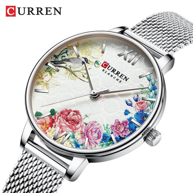 Женские часы Curren 9059 серебристый
