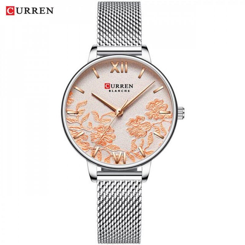Женские часы Curren 9065 серебристый