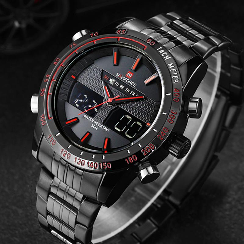 Мужские часы Naviforce 9024 - BR
