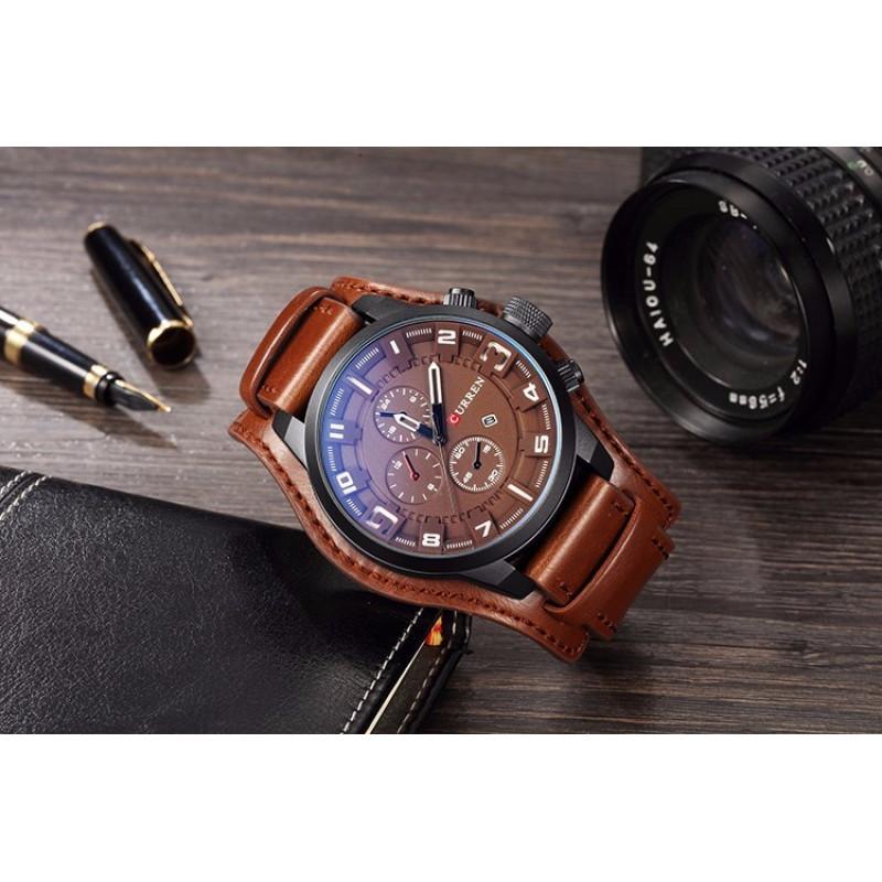 Армейские наручные часы Curren 8225 BB