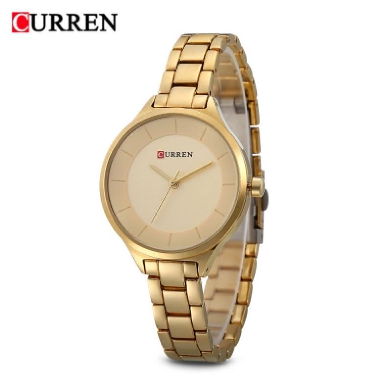 Женские часы Curren 9015 - розовое золотистый