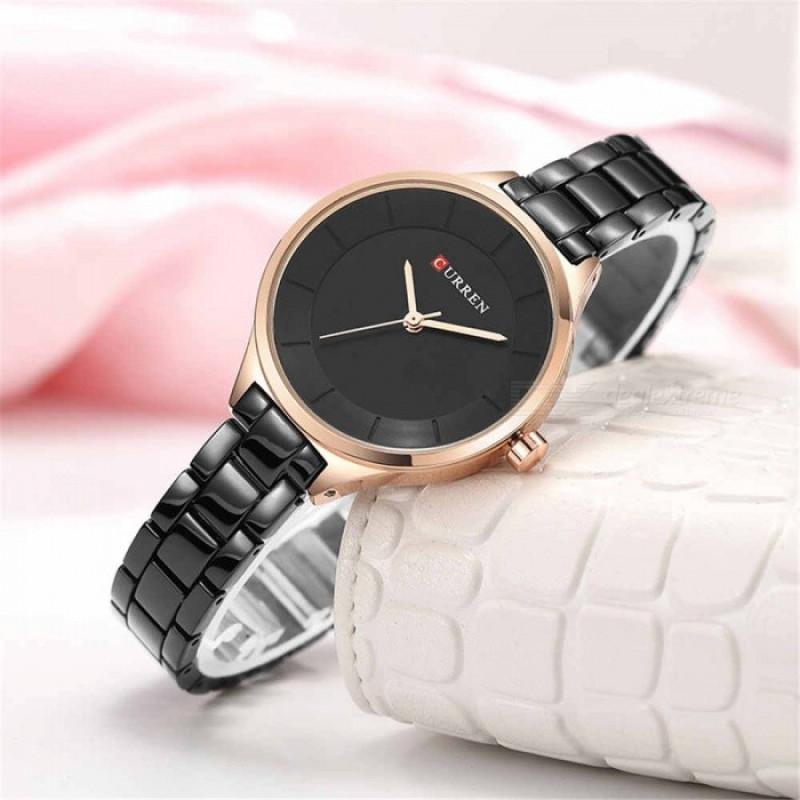 Женские часы Curren 9015 - чёрный