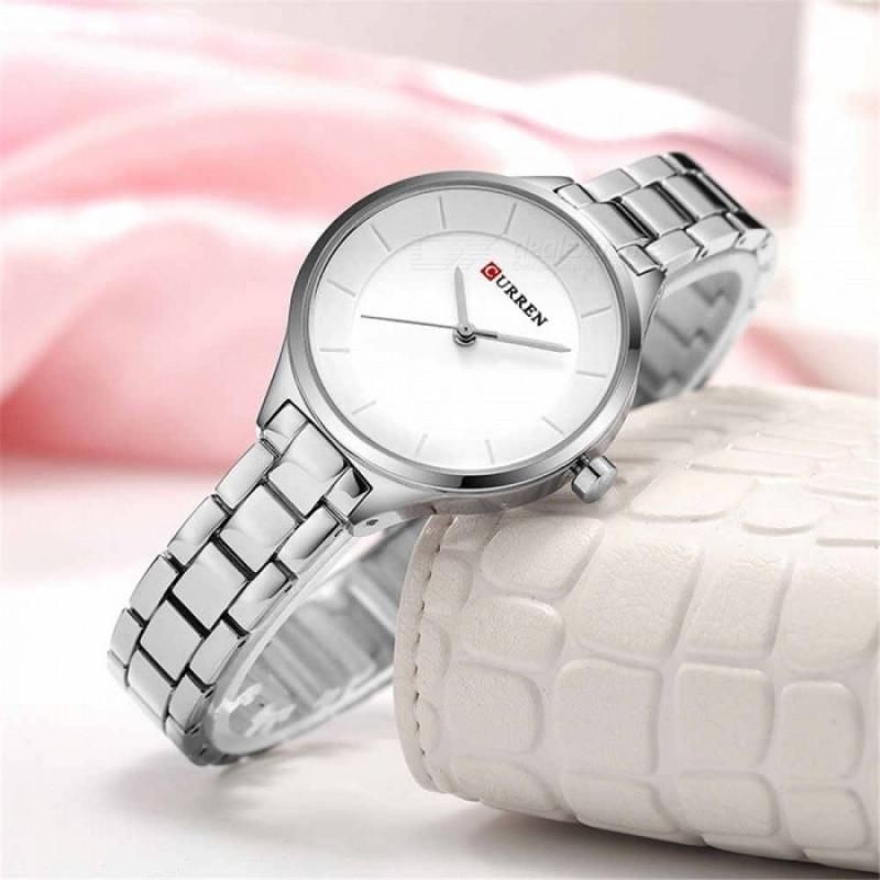 Женские часы Curren 9015 - серебристый