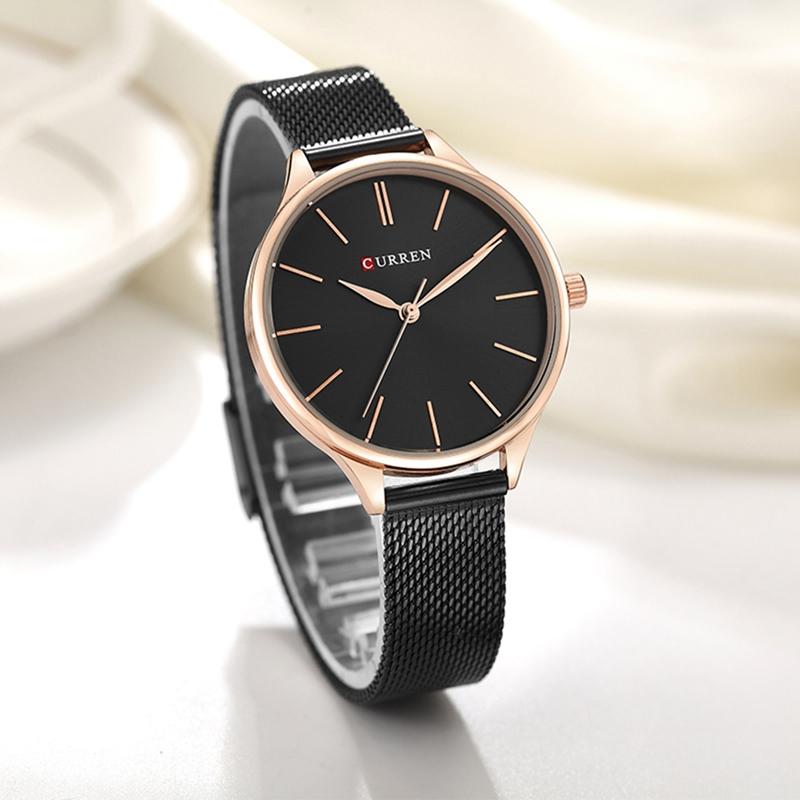 Женские часы Curren 9024 - чёрный