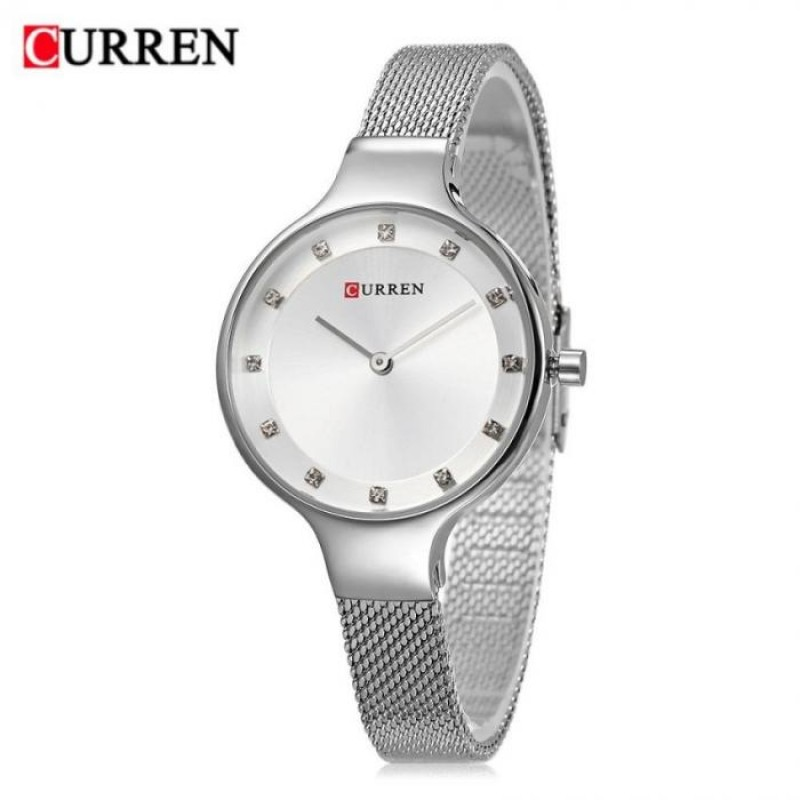 Женские часы Curren 9008 - серебристый