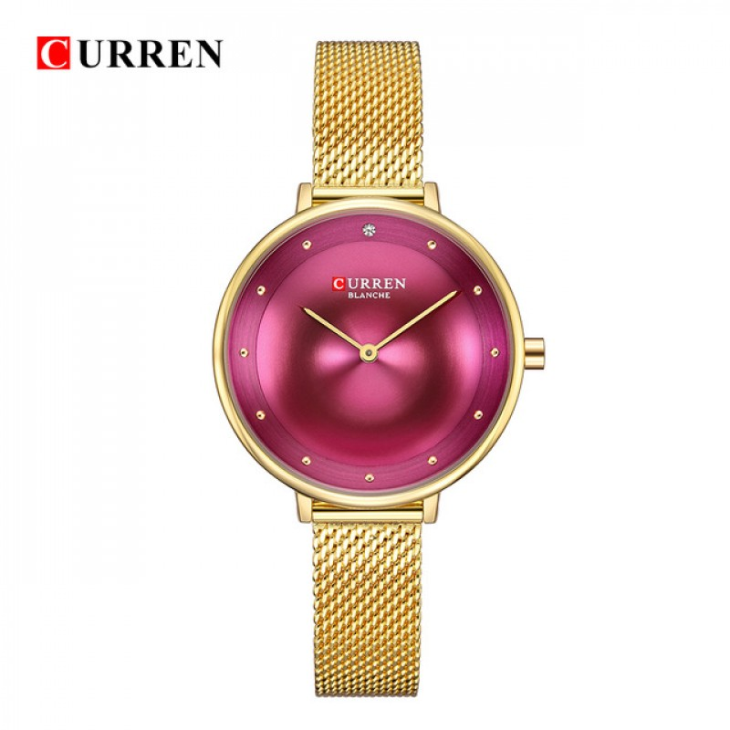 Curren 9029 Gold Purple