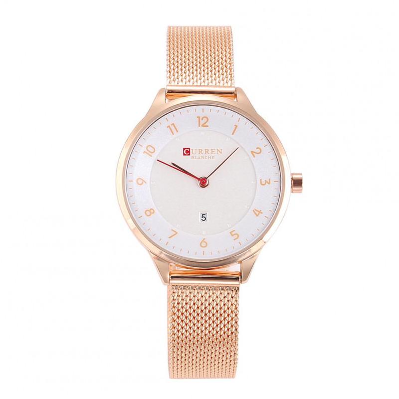 Женские часы Curren 9035 - розовое золото