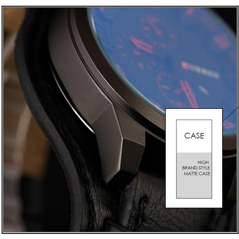 Армейские наручные часы Curren 8225 BR