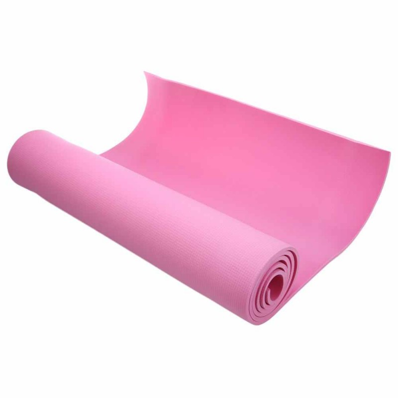 Коврик для фитнеса - розовый