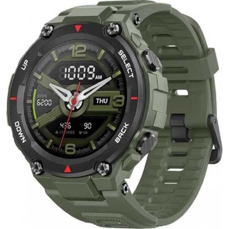Умные часы Amazfit T-Rex, темно-зеленый