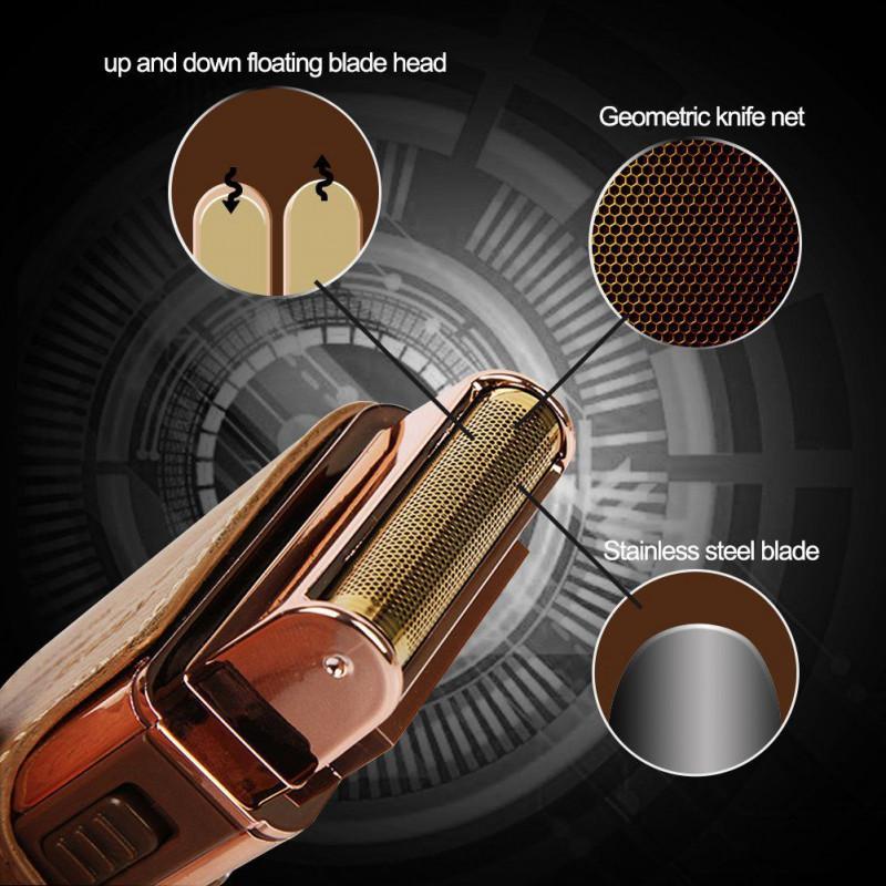 Электрическая бритва для мужчин Kemei RSCW 5600 2 в 1