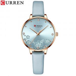 Женские часы Curren 9068. Голубой цвет