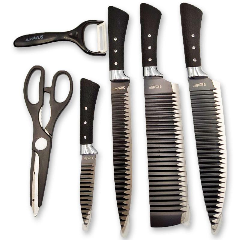 Набор керамических ножей ZEPTER 6 шт