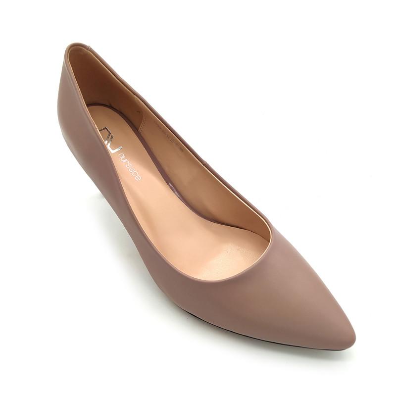 Женские туфли Nursace 0L58. Бежевые