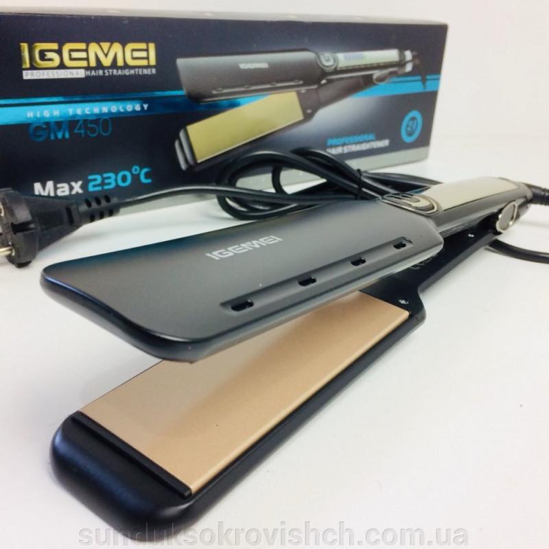 Профессиональный выпрямитель для волос IGEMEI GM-450