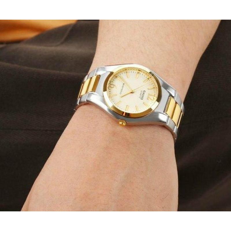 Стильные мужские часы CASIO MTP-1253SG-9ADF