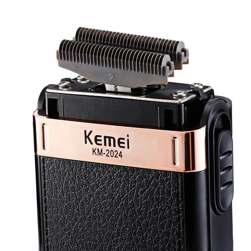 Электробритва Kemei km2024, черный