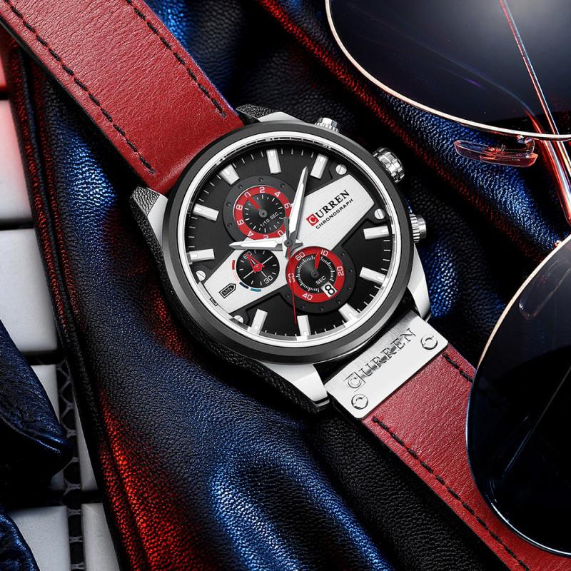 Мужские часы Curren 8394 RED