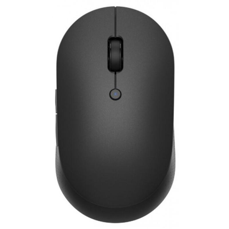 Беспроводная мышь Xiaomi Mi Dual Mode Wireless Mouse Silent Edition, черный